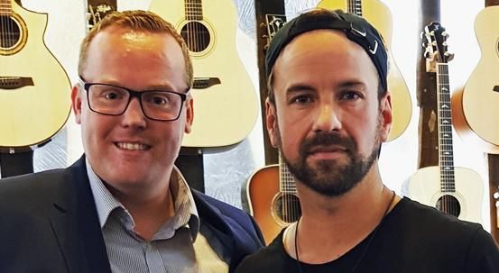 Joel Brandenstein mit Chris Neef